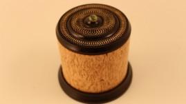 Masur birch and blackwood box
