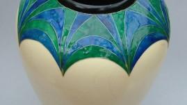 Sycamore Cloissone vase
