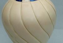 Sycamore sprial cloissone vase