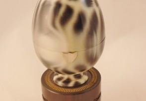 """""""Snow Leopard""""  Resin Egg"""